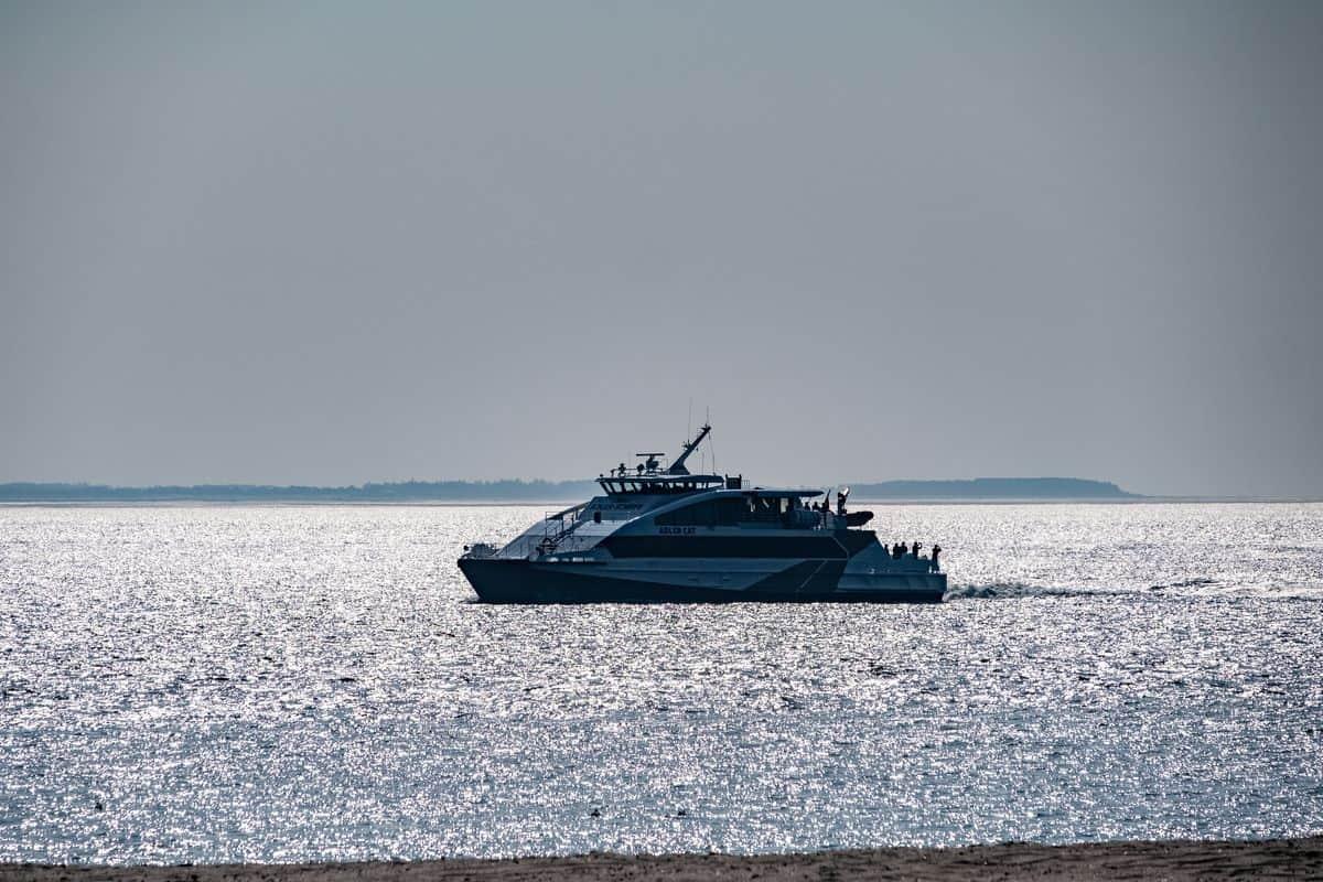 Adler Cat ab Cuxhaven (© Michael Magulski)