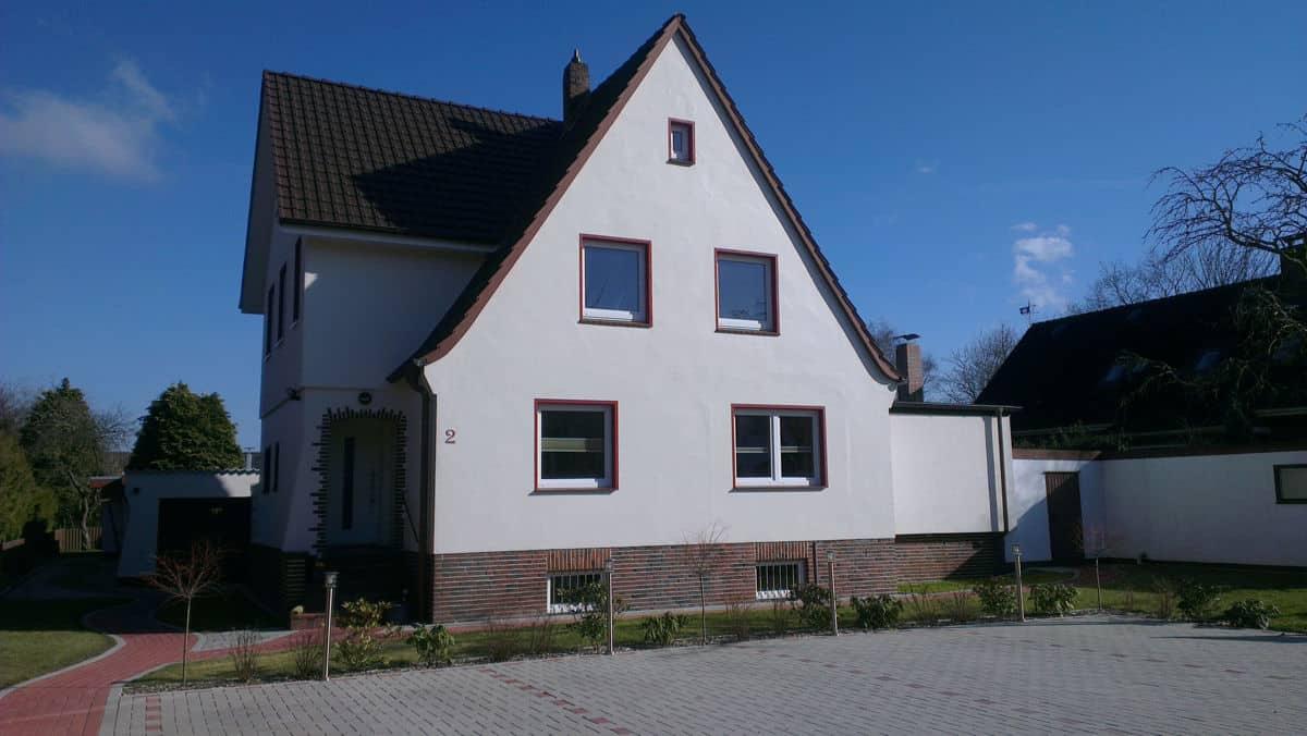 Sahlenburger Ferienhaus Aussenansicht