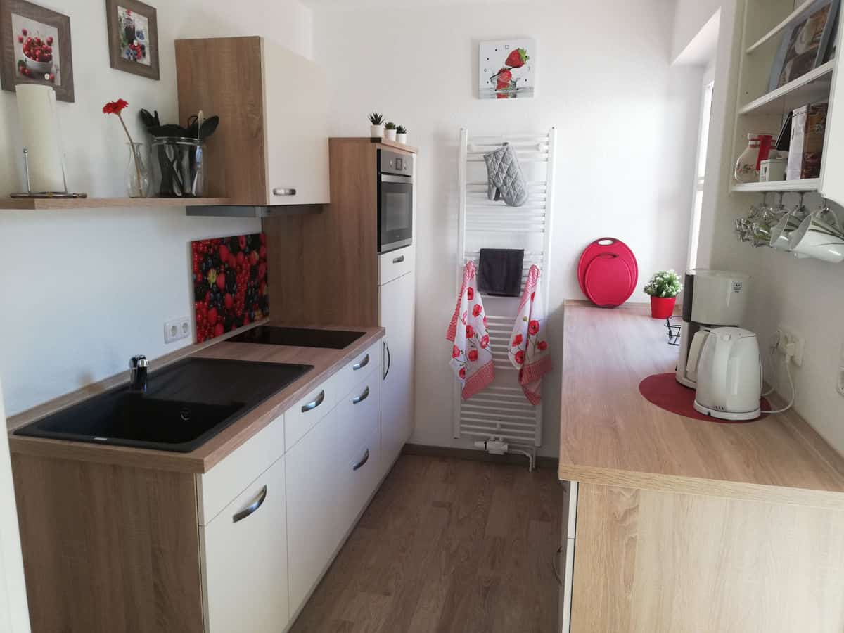 Sahlenburger Ferienhaus Küche